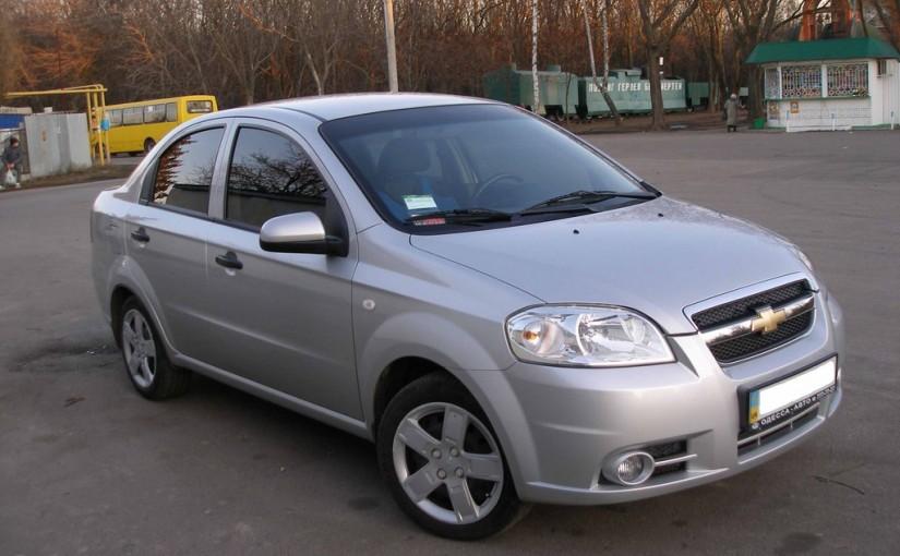 Chevrolet Aveo автовыкуп